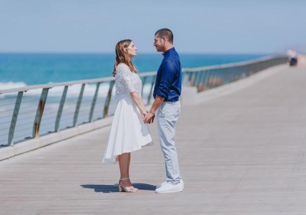 Urban Beach Chic: החתונה של גוני ועדי
