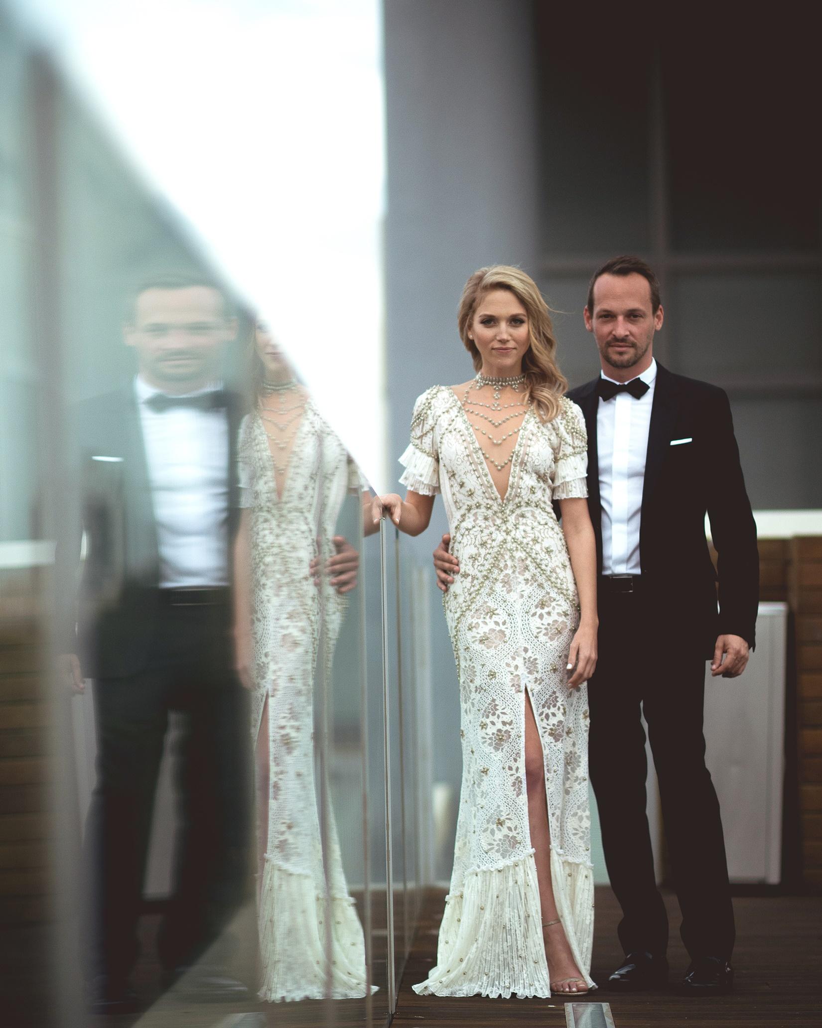 הצצה לחתונה של מירב פלדמן ואסף לייבוביץ'