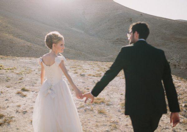 חתונת המדבר של נגה ואלמוג