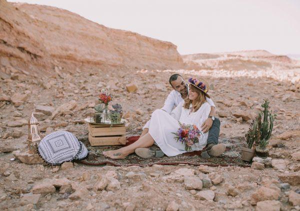 Bohemian Desert: צילומי הזוגיות של מריה ואביעד