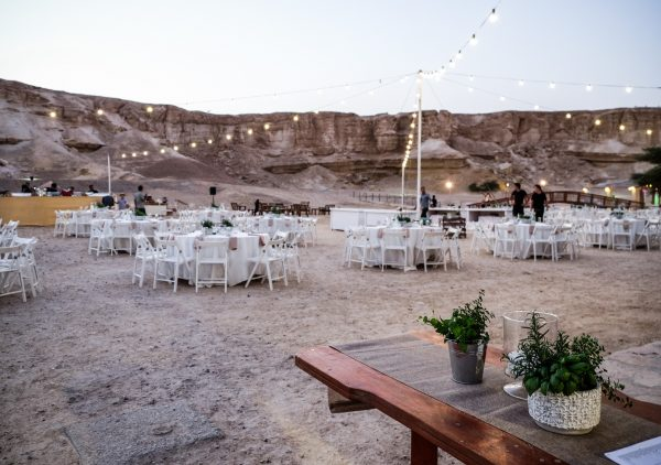 מתל אביב למדבר: חתונת יומיים בחוות האנטילופות