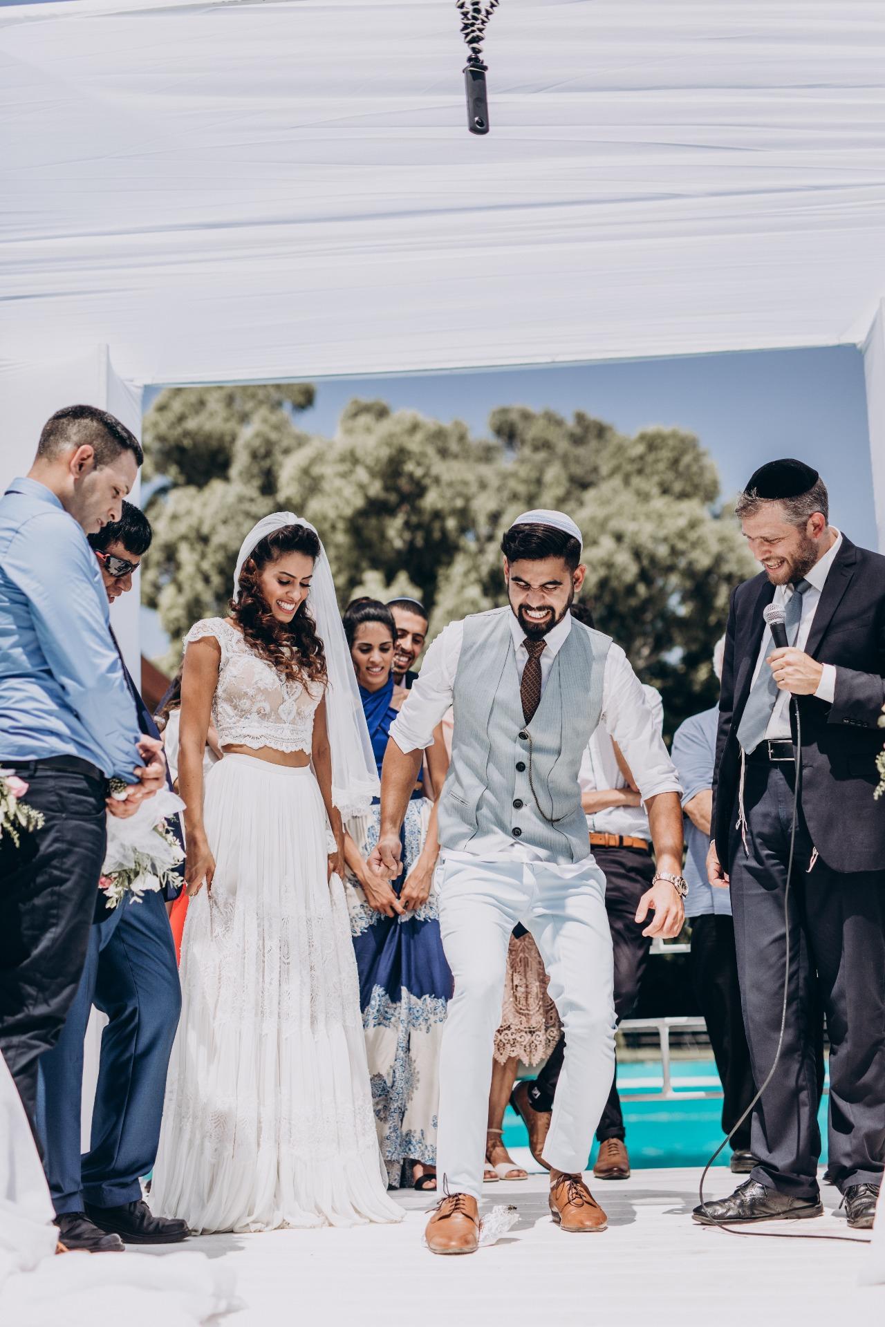 On The Dance Floor: החתונה של בר ואורי
