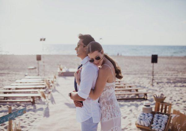 חתונת החוף המושלמת של נועה ועופר