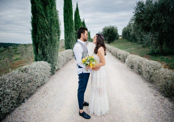 אמורה מיו: החתונה הטוסקנית של יובל ואורי