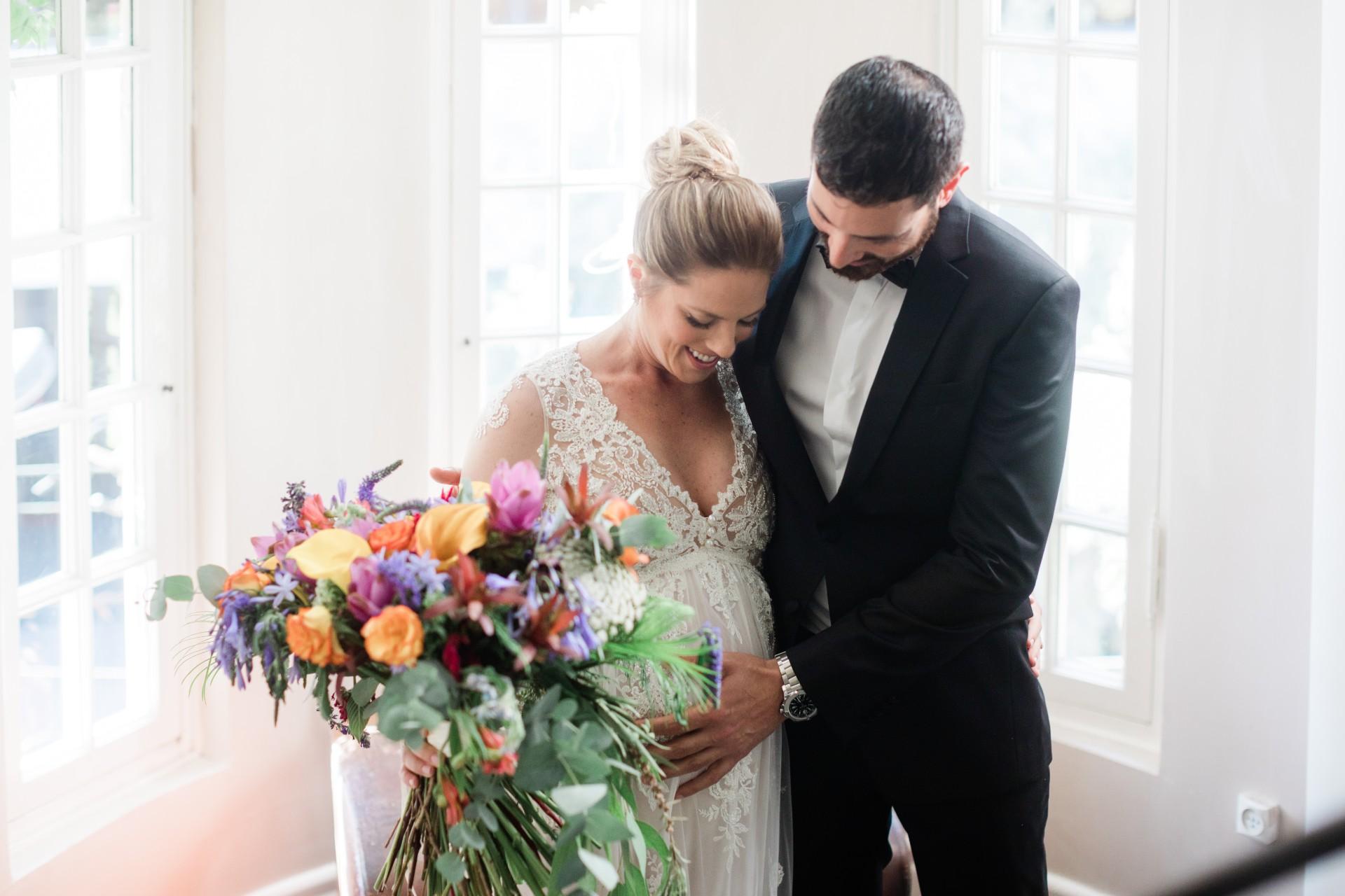חתונה בהיריון