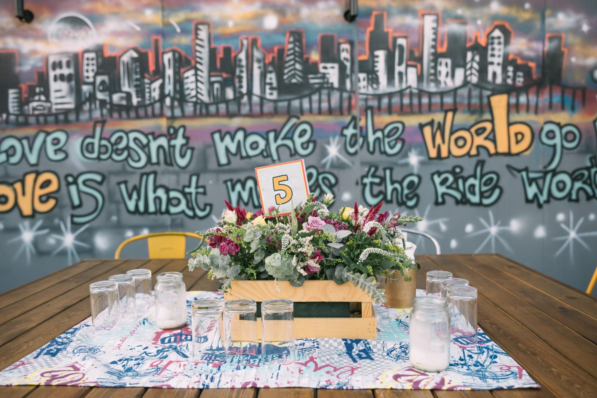 Graffiti Wedding