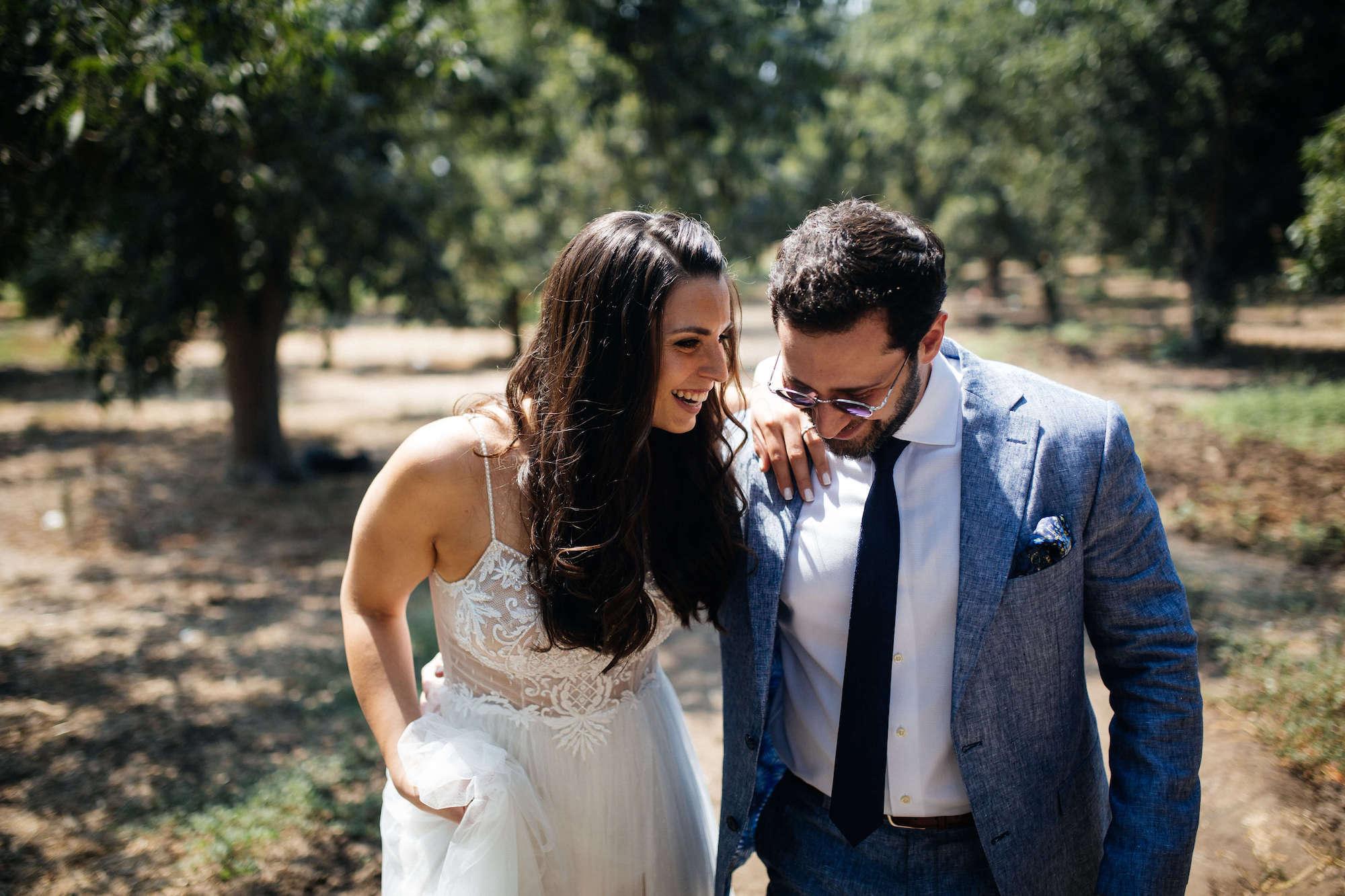 מ500 ל100 אורחים: חתונה כפרית במשק המשפחתי של דור ועדי