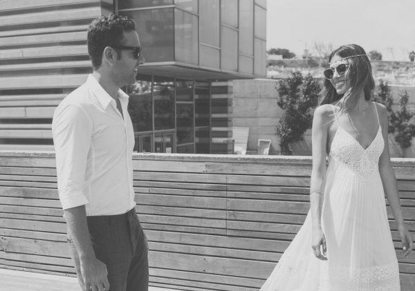 בווייב קליל על רקע הים: החתונה של דנה וטל