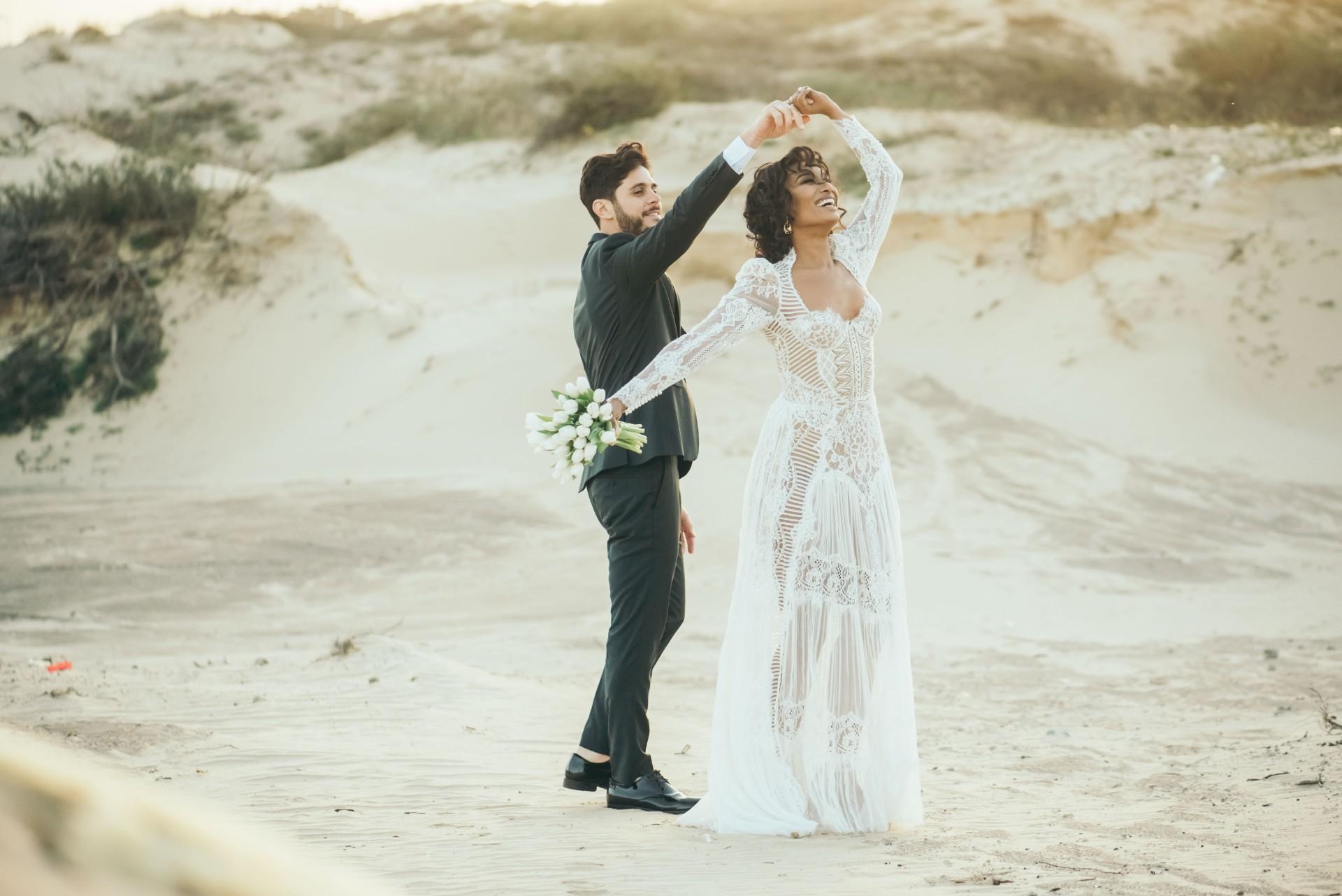 הכי נוצץ שיש: החתונה של רותי וצחי