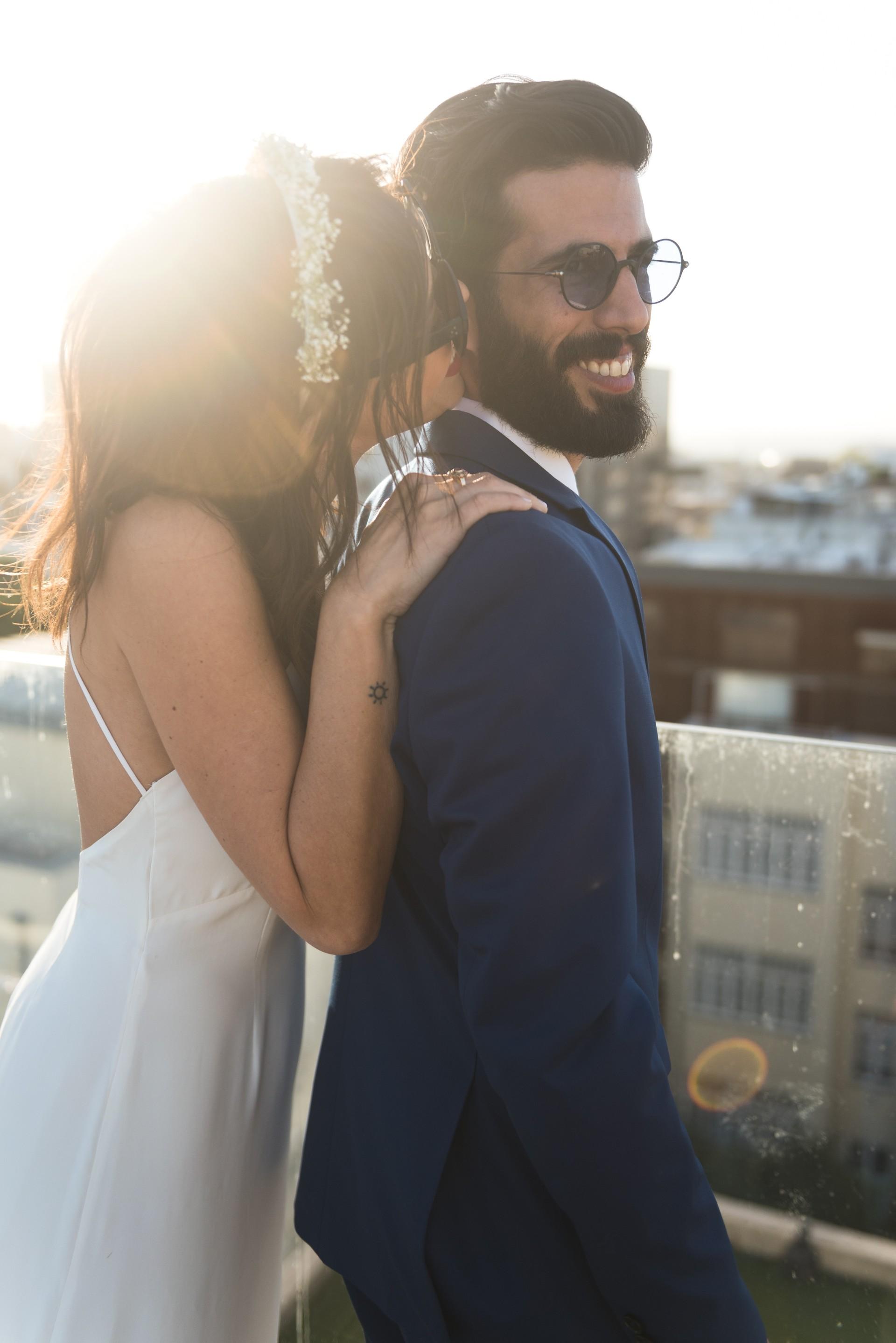 טיפת מזל: החתונה של אביה ומאור