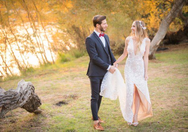 אהבה מפוסט ראשון: החתונה של ספיר ודין