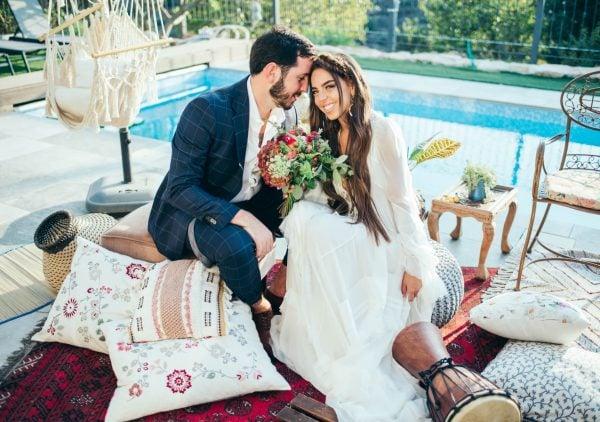 חתונה בהשראת המזרח הרחוק