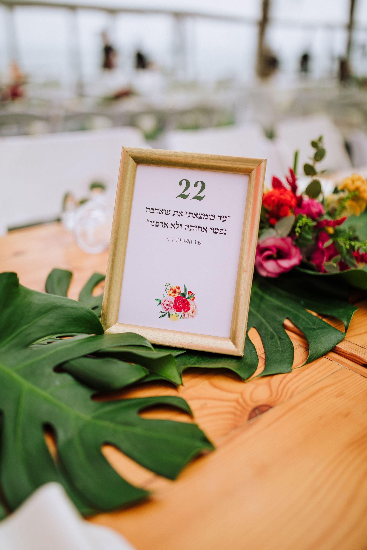 טרופיקנה סטייל: החתונה האקזוטית של מור ודניאל