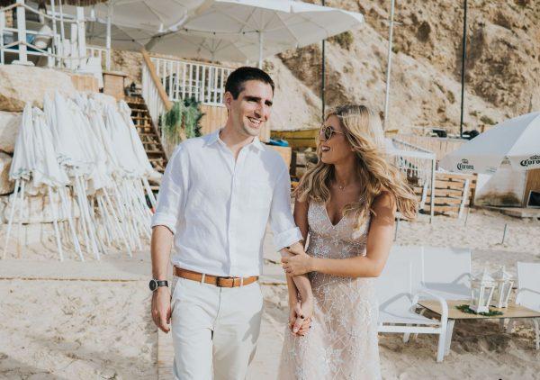 חתונת חוף בגזיבו: דנה וגיא
