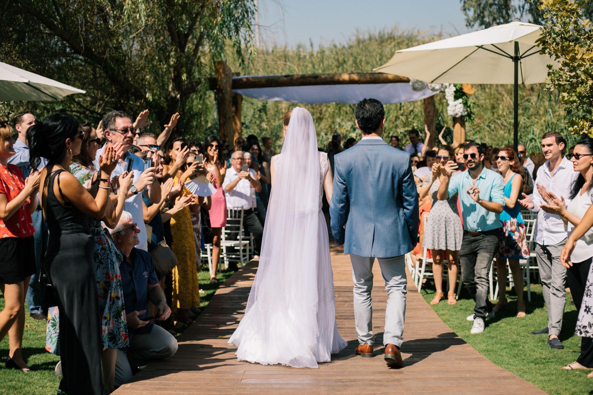 גלי וגיא הפכו את החתונה להכי אישית שיש