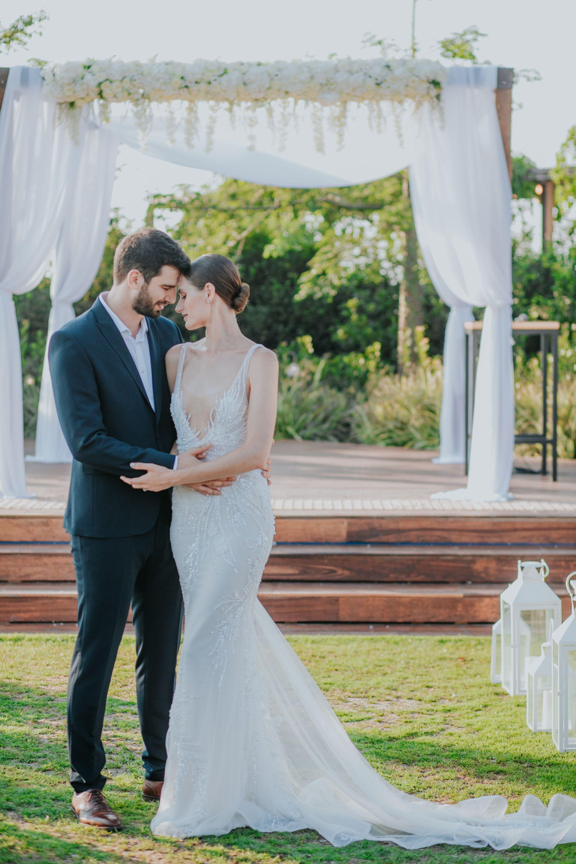 מאחורי הקלעים של החתונה של נועם פרוסט ופיג'יי מימון