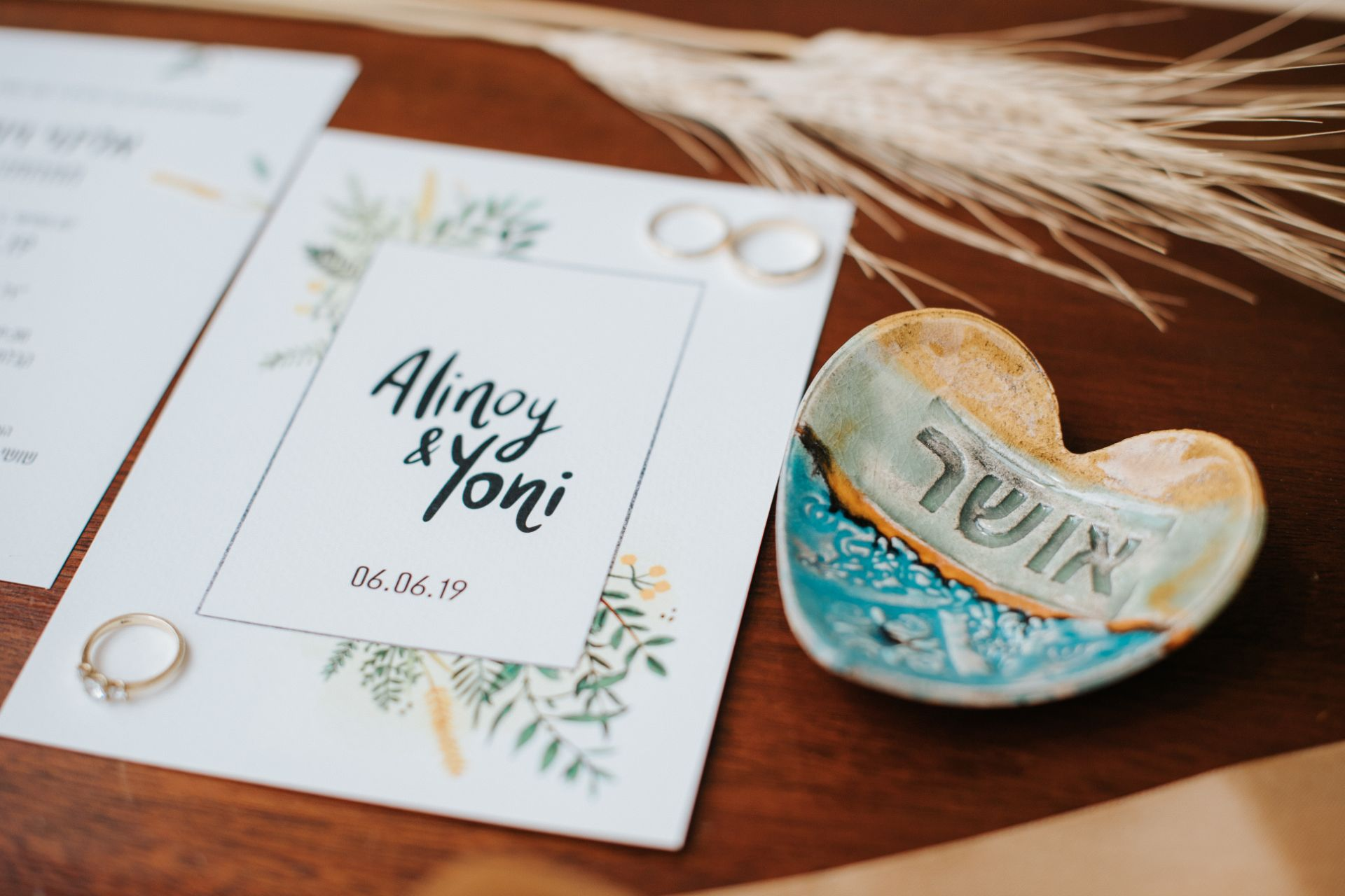 לוכדי חלומות, שיבולים וחמניות: חתונת הבוהו של אלינוי ויוני