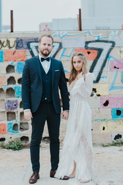 החתונה התל אביבית של חן ורון