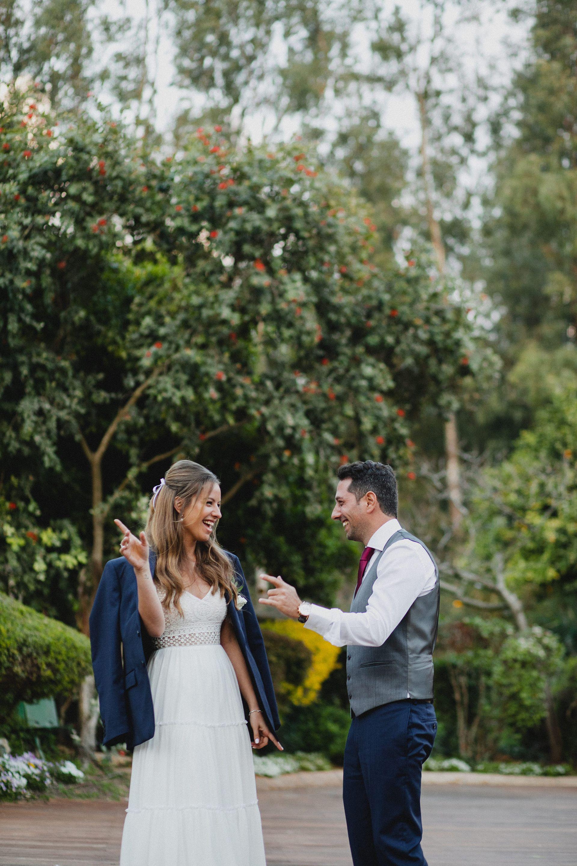החתונה מלאת התהפוכות של ירדן ועידן