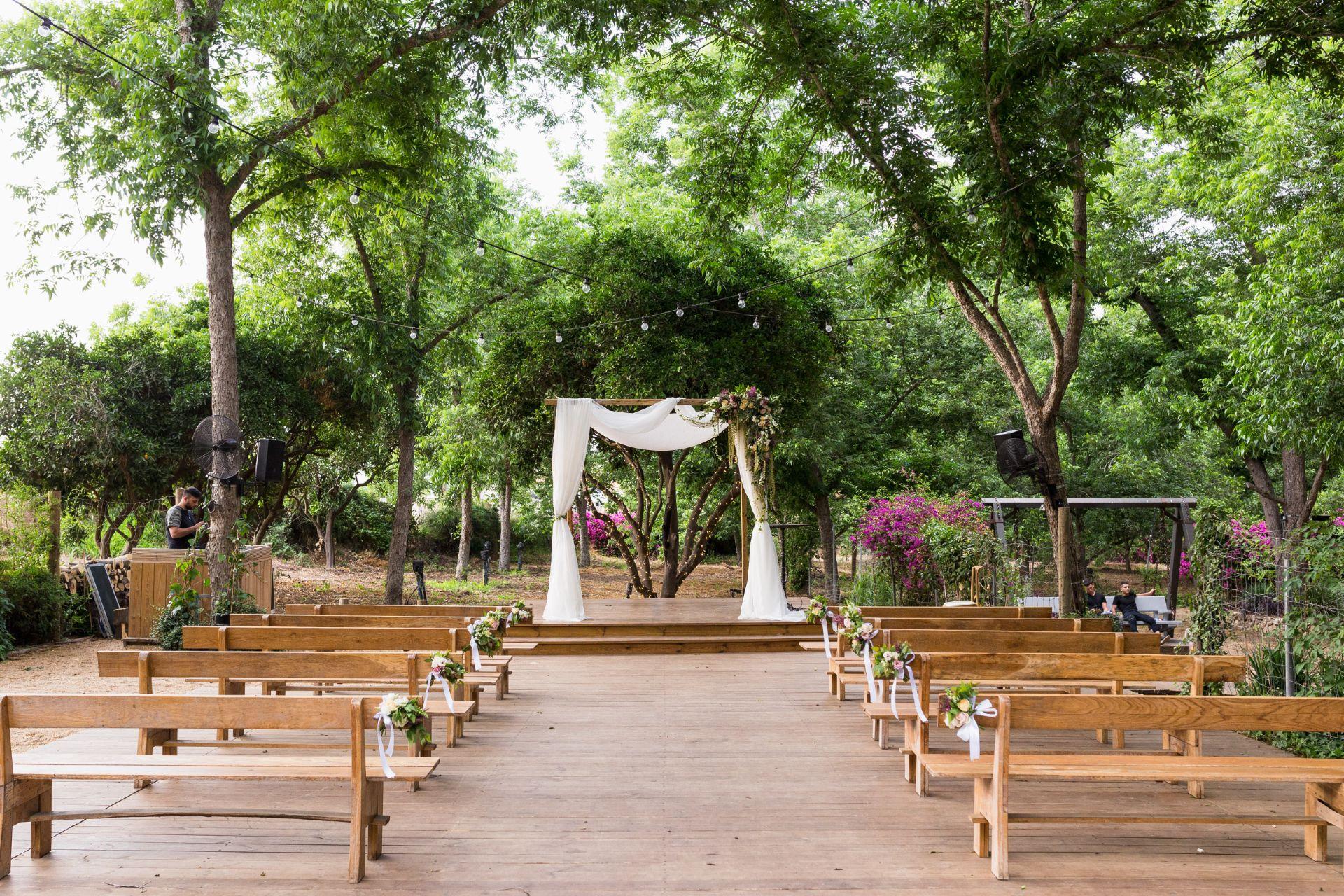 מהמדרונות המושלגים ליער הפיות: החתונה של שני ומתן