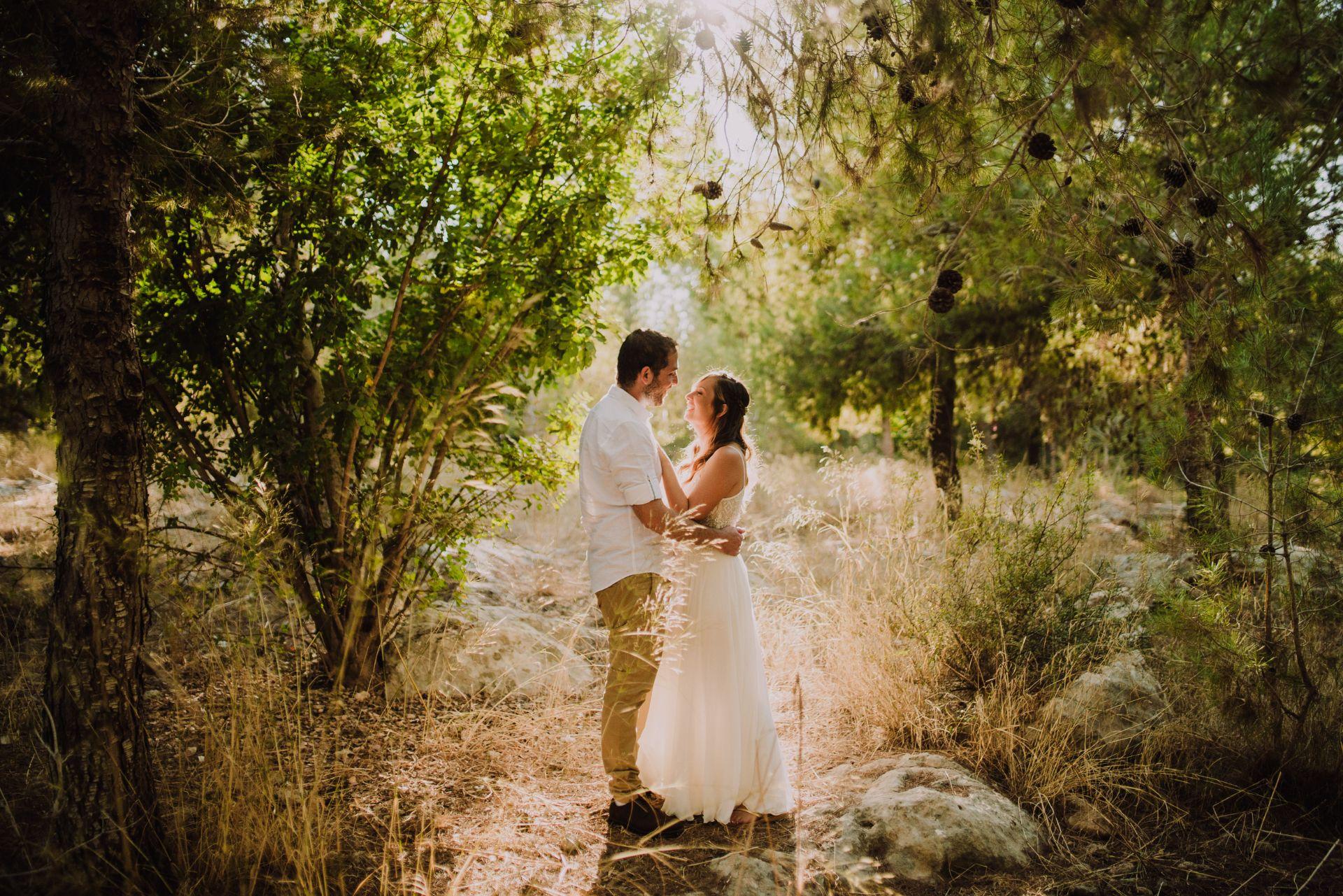 ברגע האחרון: גל ואוהד תכננו חתונה ב-4 ימים