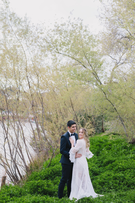 מהתיכון לחופה: החתונה הקסומה של שי וטל