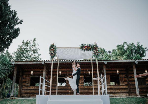 חלום כפרי: חתונה בחווה הביתית