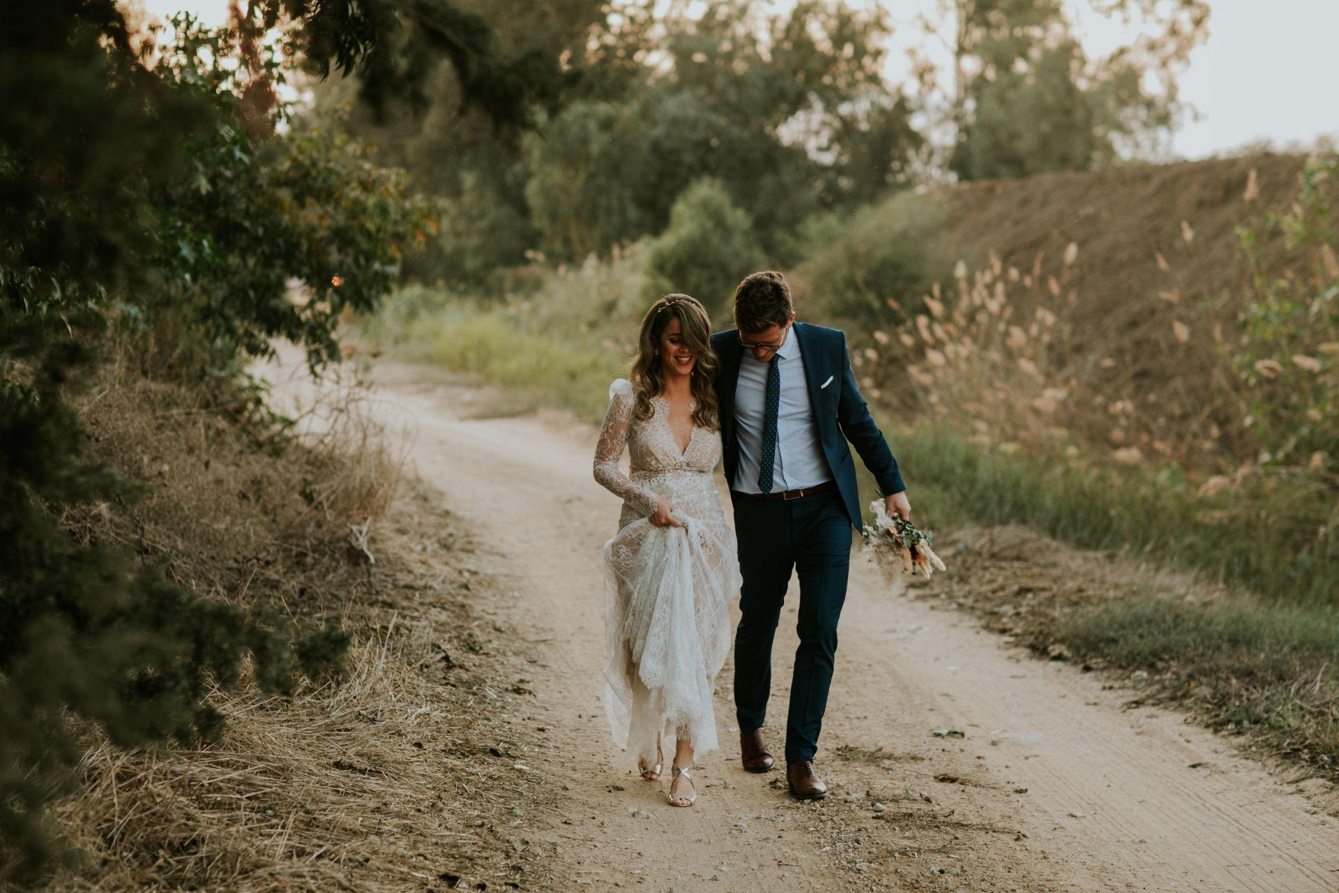 השילוב המושלם בין קלאסי לבוהמייני: החתונה של דנה ותומר