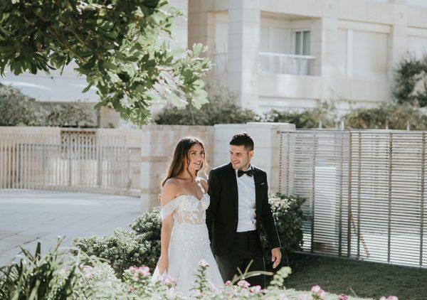 קסום, רומנטי ולא מתאמץ: החתונה של נופר ותמיר