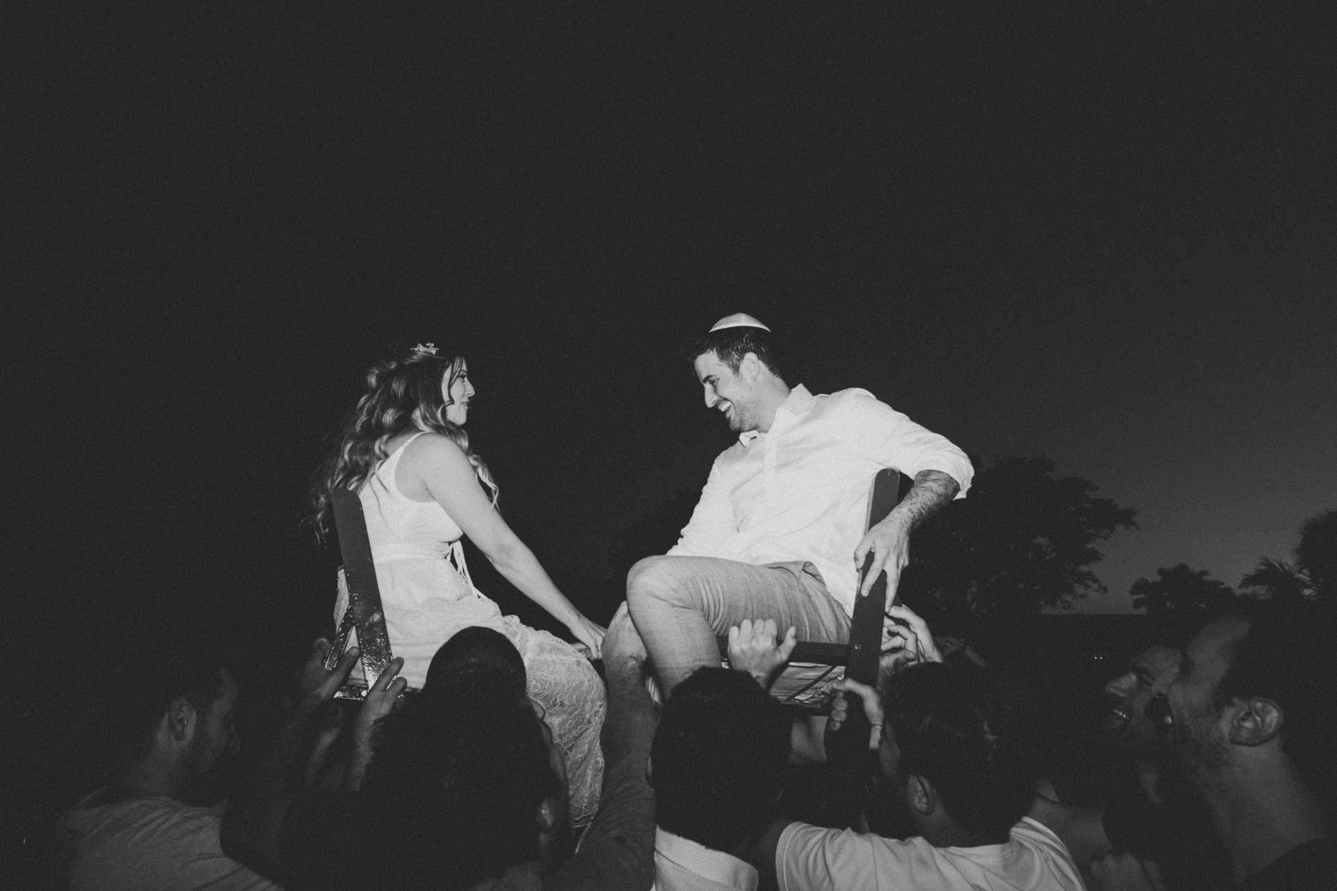 החתונה האינטימית על שפת הכינרת של דניאל ושרון
