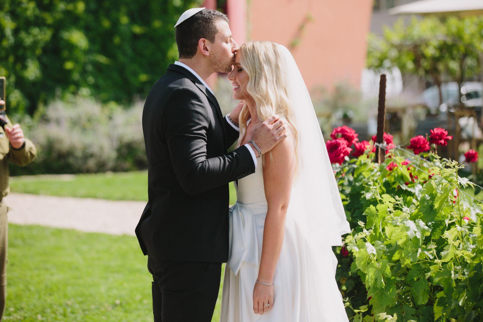 שינוי התוכניות ברגע האחרון הוביל לחתונה מהממת בטוסקנה הישראלית