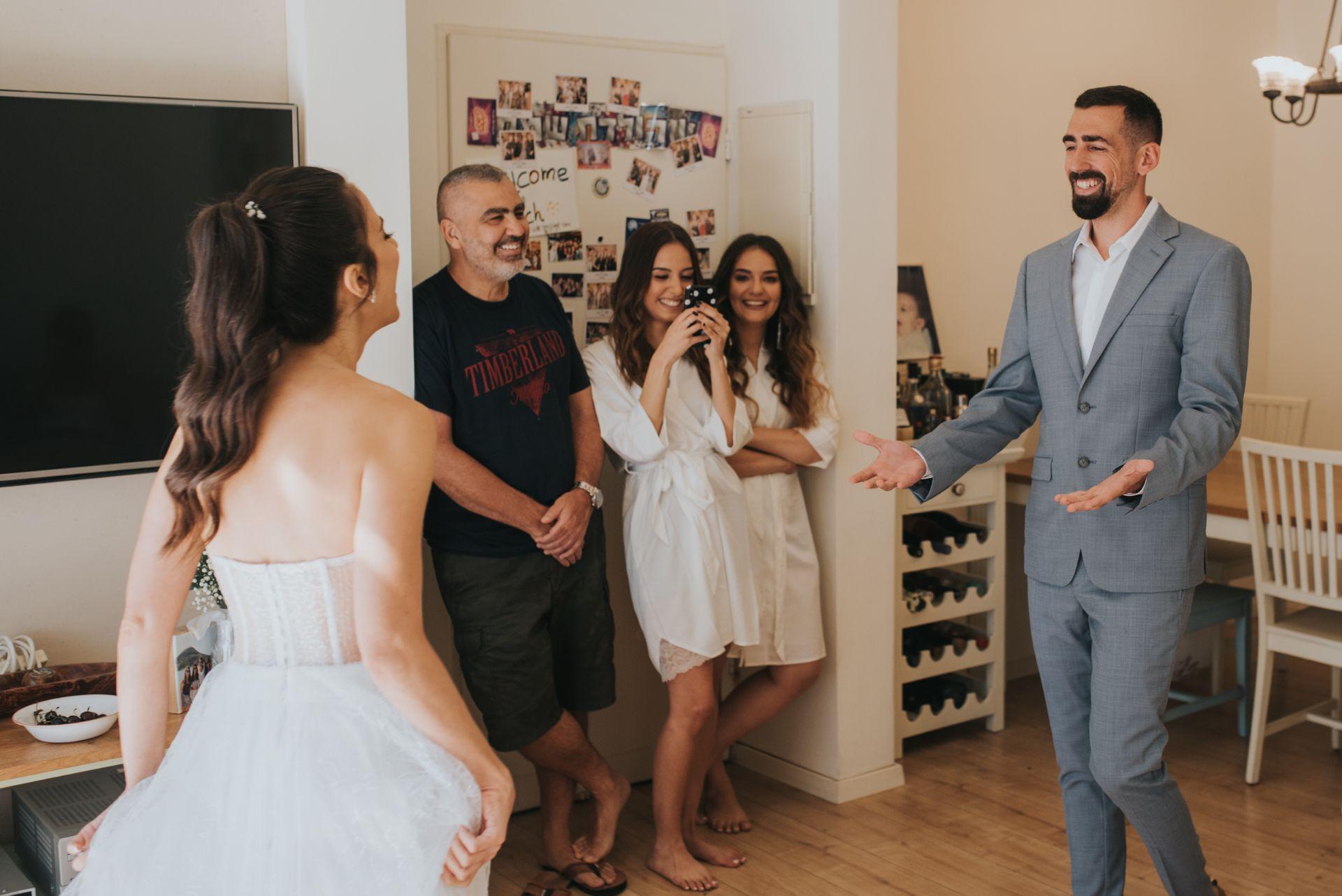 """רותם וטל הודיעו לכל האורחים: """"אנחנו מתחתנים בעוד יומיים"""""""