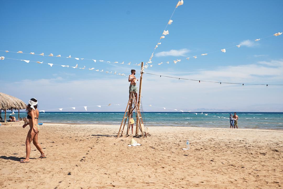 חתונת חוף בסיני