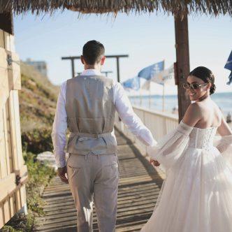 חתונה במסעדת חוף בהרצליה