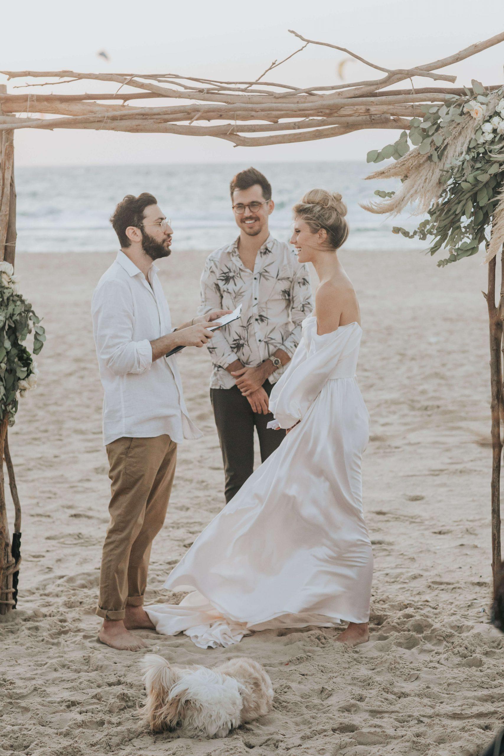 חתונת החוף של אלינה לוי