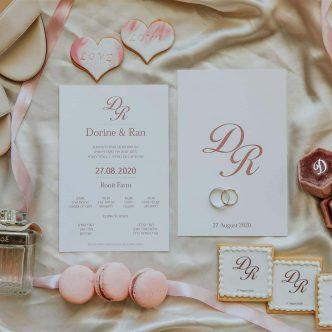 הזמנת חתונה מעוצבת