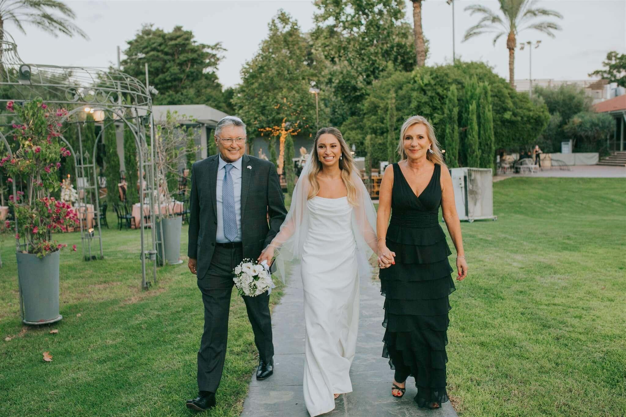 חתונה מצומצמת ומרגשת: האירוע של דורין ורן