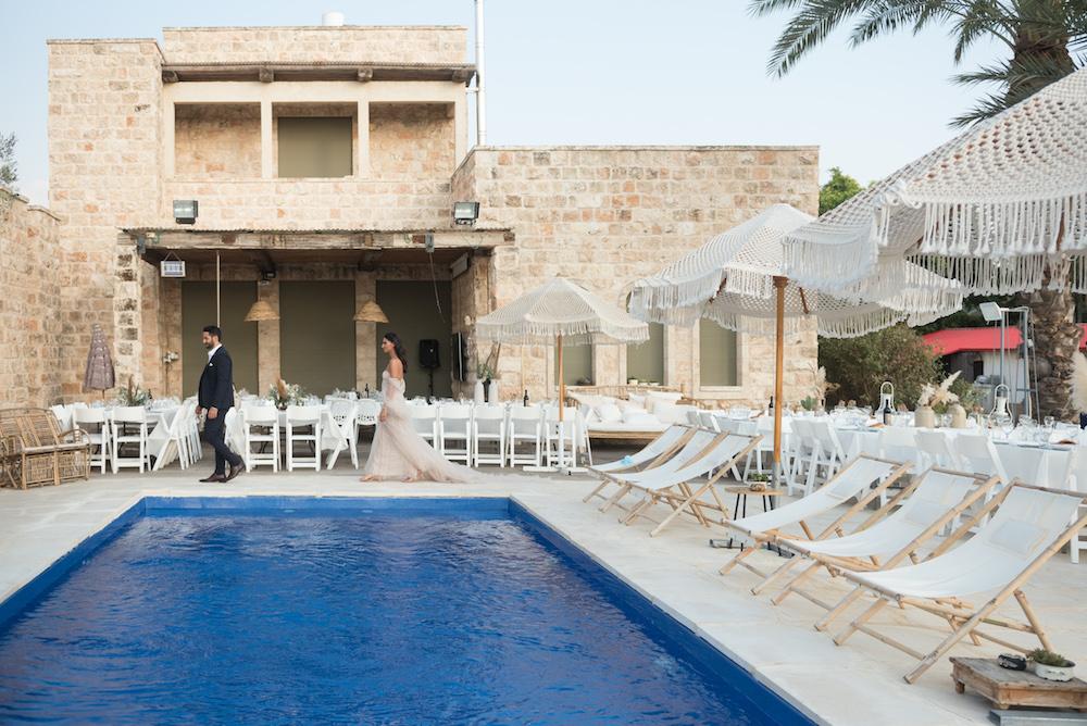 בשלושה ימים בלבד: חתונת הבוהו-גלאם בוילה של עינת ואלירן
