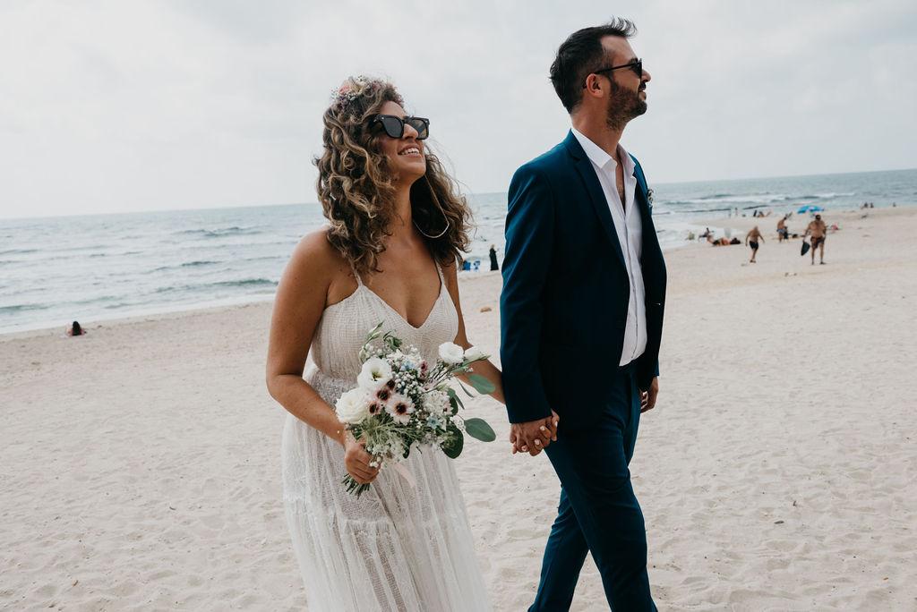 חתונת בית בזמן קורונה: 30 אורחים, שמש ואהבה