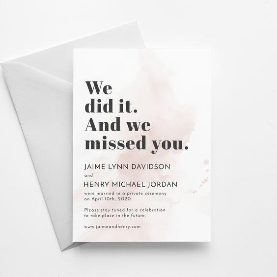 הזמנות לחתונה ועדכונים לאורחים בזמן קורונה: כך תעשו זאת נכון