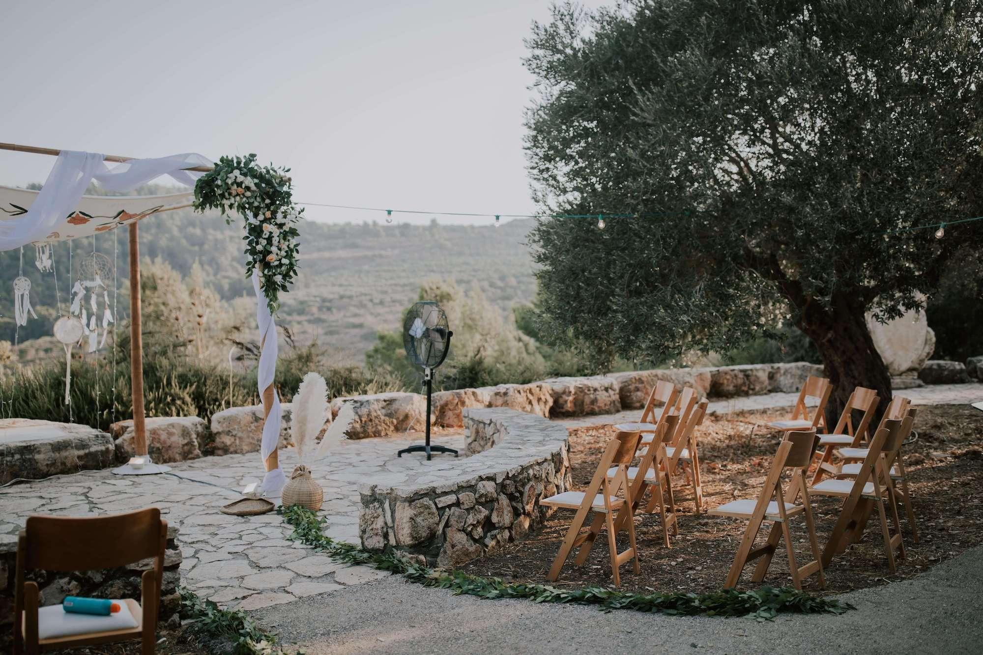 חתונת מושב אינטימית: אופיר וערן