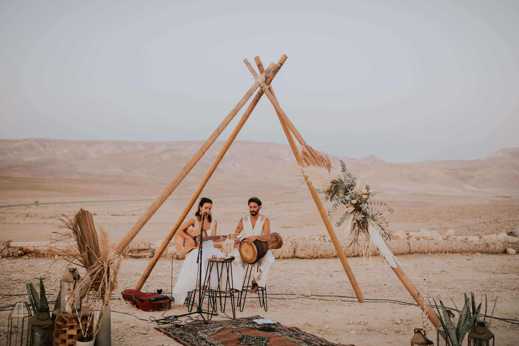 sunset to sunrise: פסטיבל חתונה בכפר הנוקדים