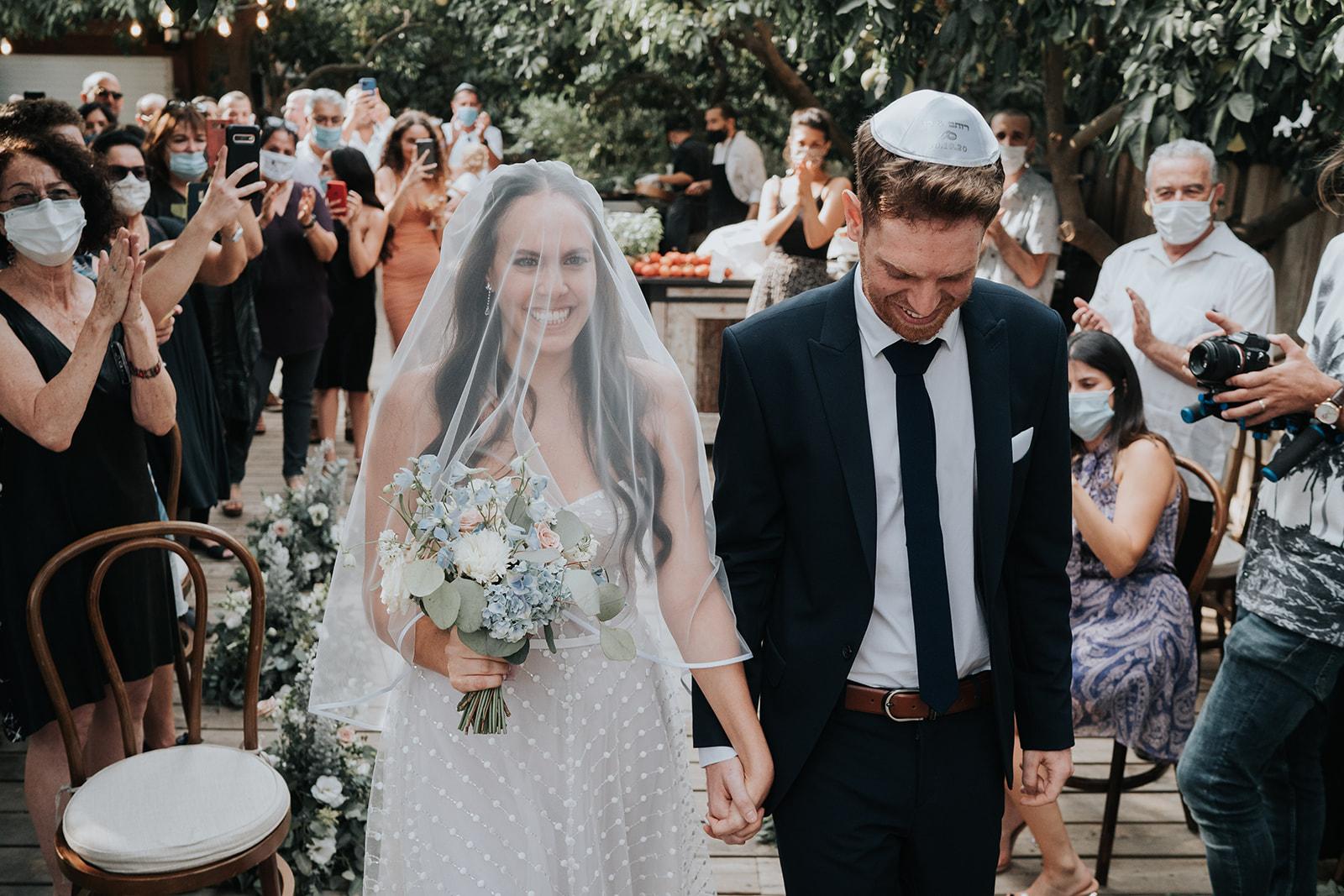 אחרונה ל2020: חתונה קסומה ומנצנצת