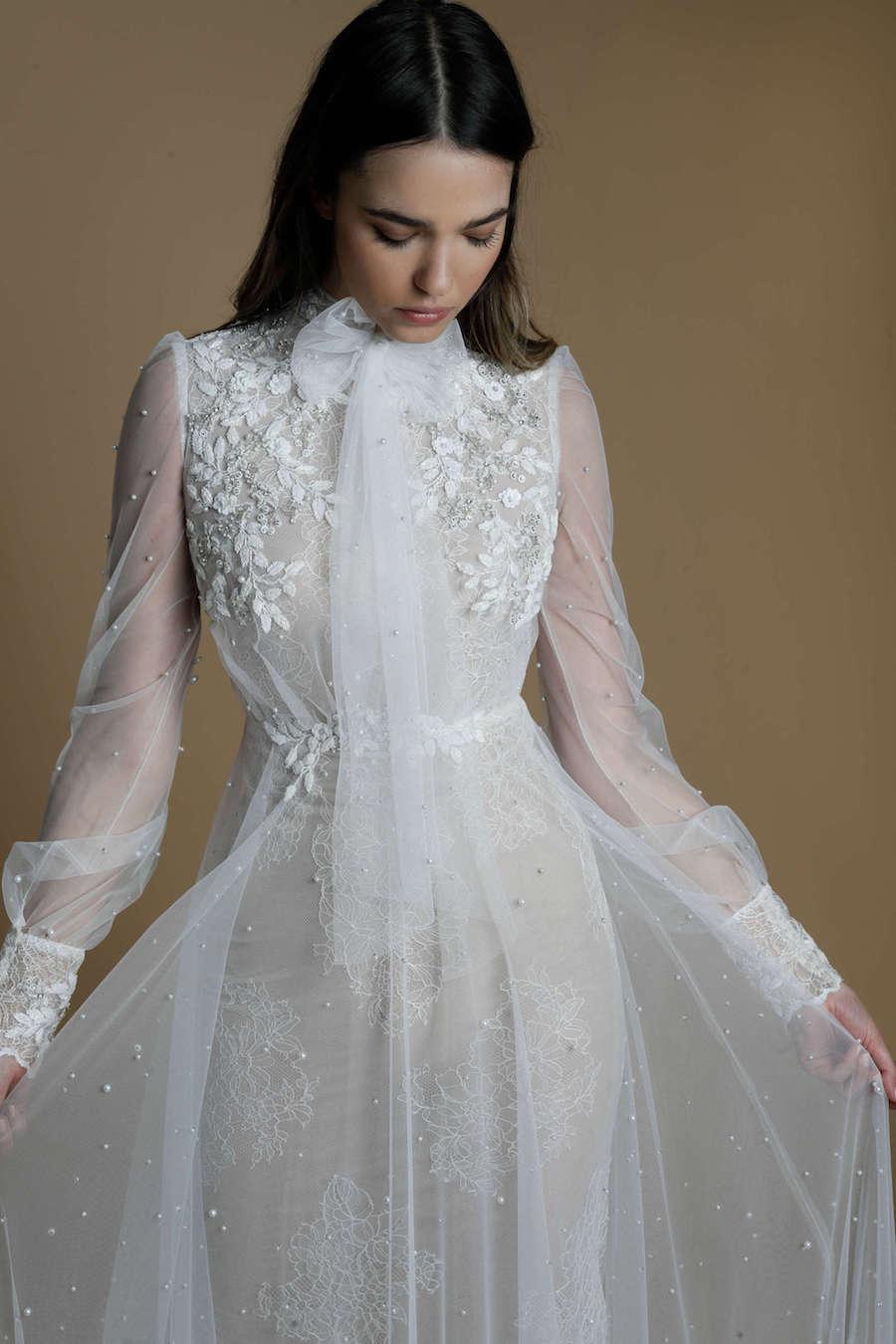 25 שמלות כלה עם שרוולים ארוכים שיגנבו את ההצגה