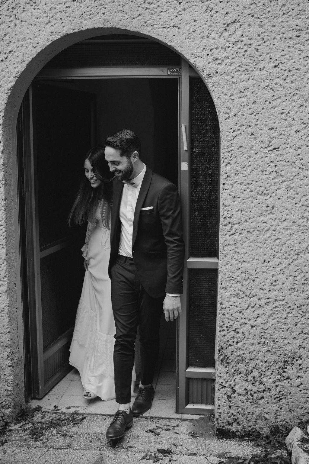 רגעי חורף קסומים: החתונה של יעל ולירן