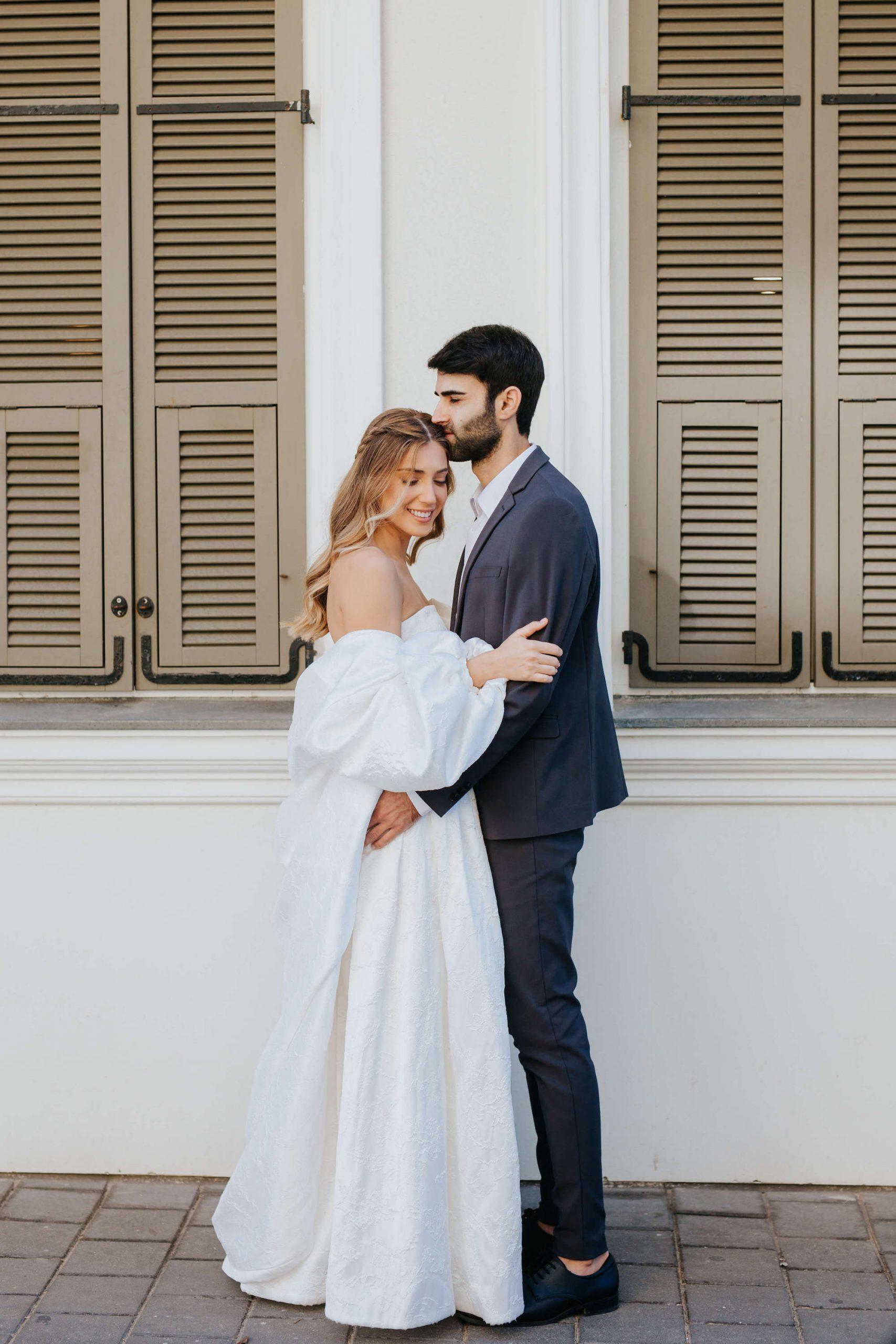 סופר סטייל: חתונת שטח אינטימית בפרדס