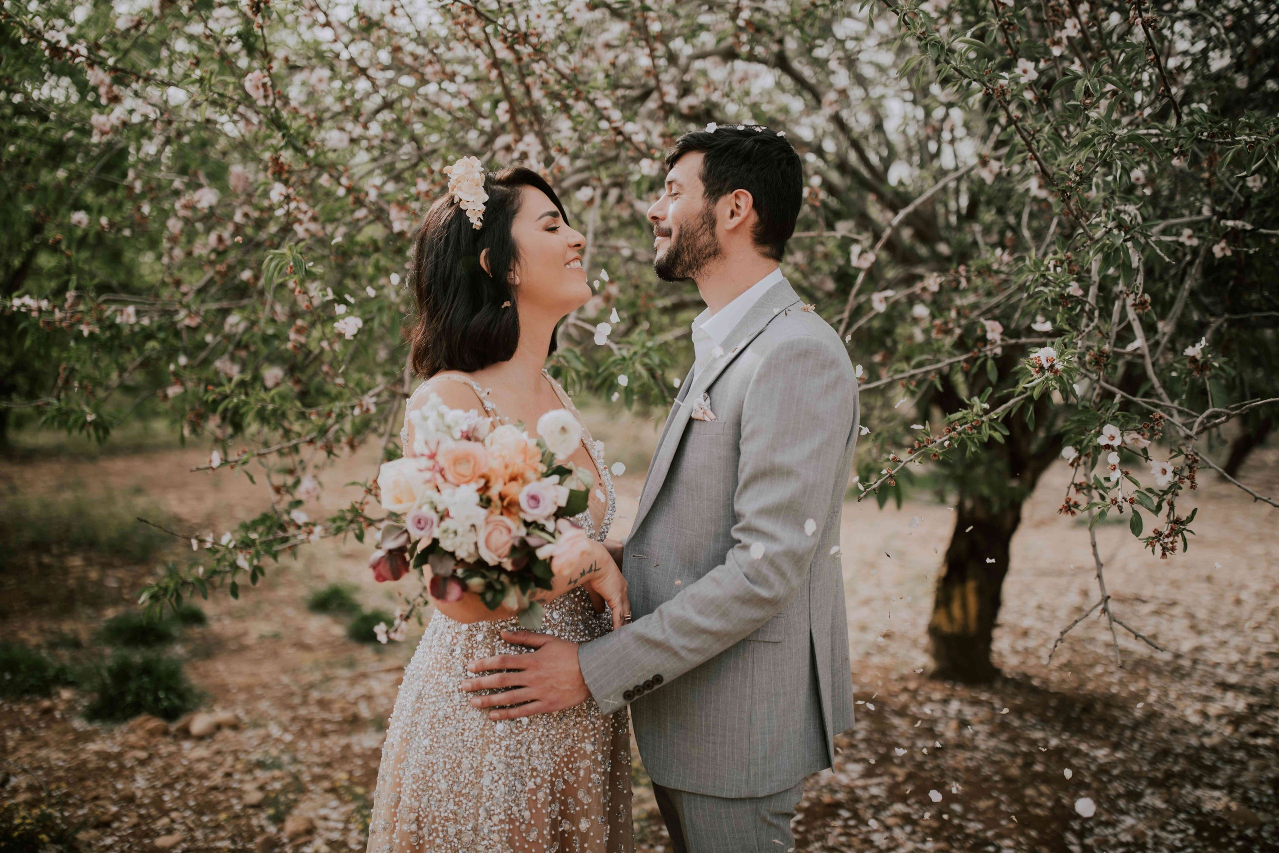 טוסקנה ליד ירושלים: חתונה קטנה ביקב פסטורלי