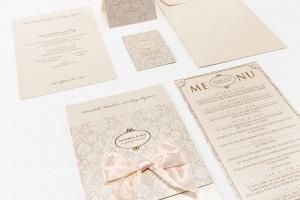 Beige Invitations Dita Design