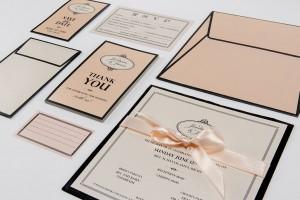 Dita Design Invitation Set
