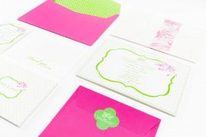 Dita Design Pink Invitations